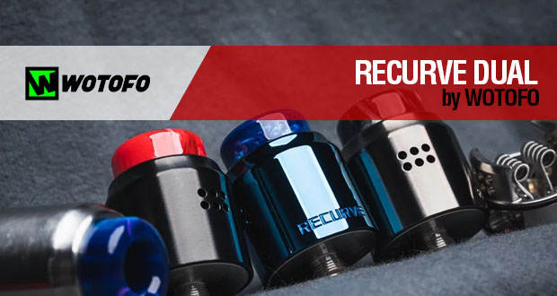 Wotofo RECURVE DUAL RDA by Mike Vapes / ¡¡¡HA VUELTO!!!